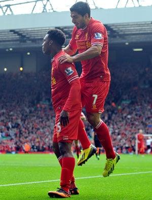 Brendan Rodgers demands more from deadly duo Luis Suarez, Daniel Sturridge