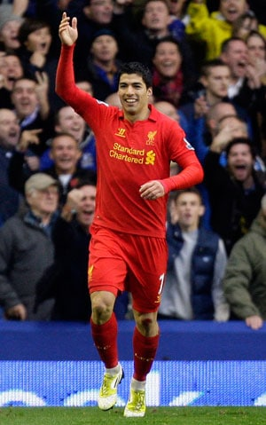 Liverpool to look to Luis Suarez for goals at Chelsea