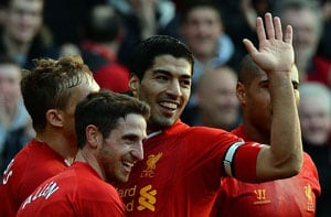 EPL: Liverpool go to top of the table, Manchester City climb to second spot