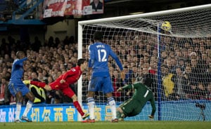 Luis Suarez earns a point for Liverpool as John Terry's Chelsea return is cut short
