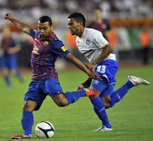 Jeffren to move from Barcelona to Sporting Lisbon