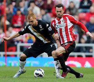 EPL: Sunderland fight back to frustrate Fulham