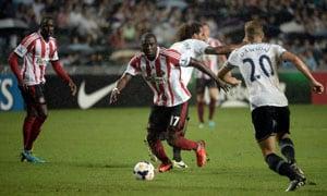 Sunderland see off Tottenham Hotspur 3-1 in Hong Kong