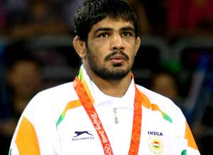 Wrestler Sushil Kumar will be India's flag-bearer at the Olympics