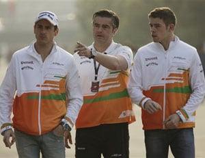 Adrian Sutil, Paul di Resta aim for Indian Grand Prix repeat at Abu Dhabi