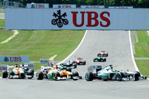 Force India's point streak ends at German Grand Prix