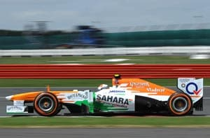 It's disappointing to slip back so close to finish: Adrian Sutil
