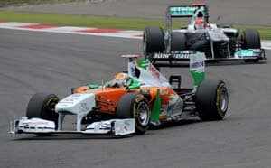 Points for Sutil, a finish for Chandok