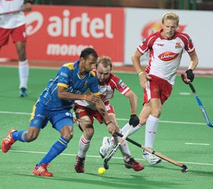 Punjab Warriors beat Mumbai Magicians 3-1 in Hockey India League