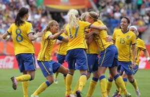 Sweden beat France, finish third despite dismissal