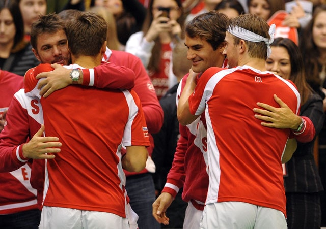 Switzerland to face Kazakhstan in Davis Cup quarters in Geneva