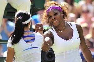 Wimbledon 2012: Zheng scare was ideal test, says Serena
