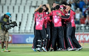 Sydney Sixers beat Highveld Lions to win Champions League T20