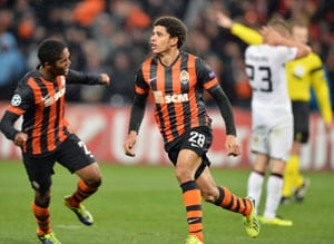 Shakhtar Donetsk's Taison lands late blow to force draw with Manchester United