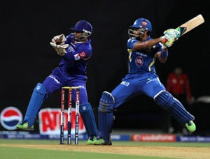 IPL 2013: Mumbai Indians beat Rajasthan Royals by 14 runs, become table toppers