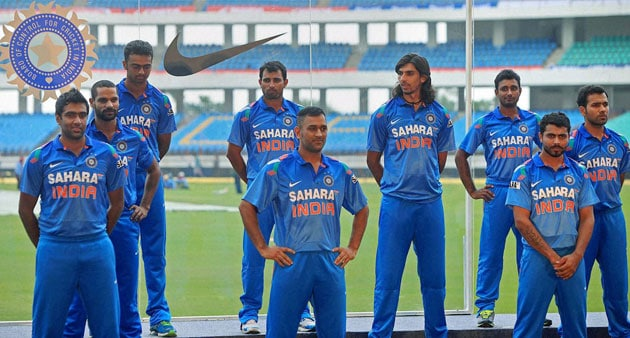 Team India to don all-...