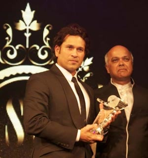 Wisden India award for Sachin Tendulkar