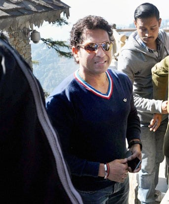 Sachin Tendulkar back in Mumbai after holidaying in Mussoorie