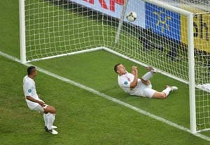 Euro 2012: Ukraine were denied a goal - Referees' chief