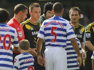 EPL: Ferdinand snubs Terry in pre-match handshake