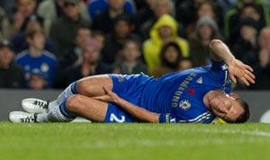 Chelsea captain John Terry could return in three weeks