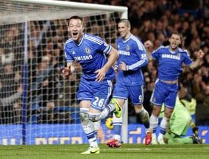 EPL: John Terry scores as Chelsea beat Southampton 3-1