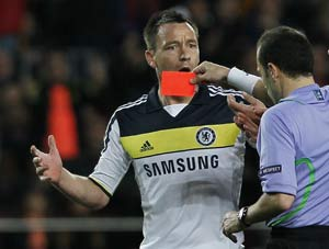 UEFA panel to decide length of John Terry's ban