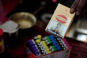 India puts Terry on cigarette warnings: Report