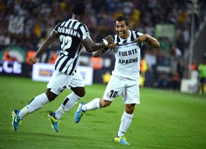 Serie A: Carlos Tevez on target as Juventus rout Lazio again, Napoli win at Chievo