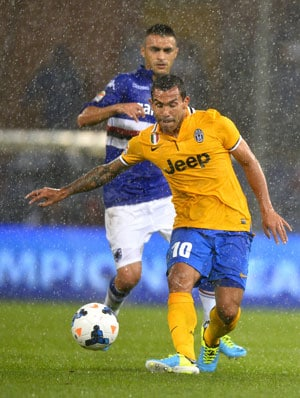 Serie A: Carlos Tevez on target for Juventus; Verona sink AC Milan