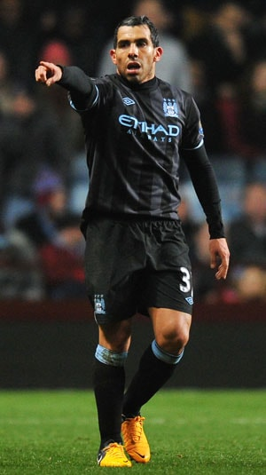 EPL: Manchester City still in the hunt as Carlos Tevez sinks Aston Villa