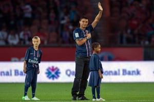 Thiago Silva extends PSG contract until 2018