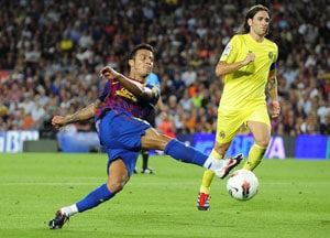 Barcelona rout Villarreal 5-0 in Spanish opener