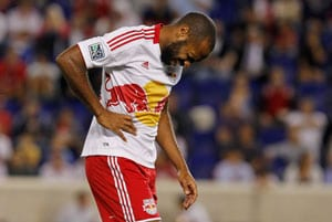 Thierry Henry banned for headbutting