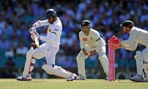 Sri Lanka falter after Jayawardene finds runs