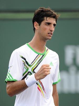Davis Cup: Bellucci wins, Brazil and Colombia 1-1