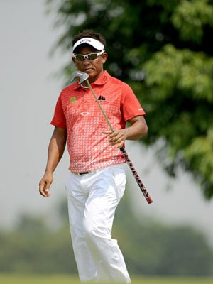 Thongchai Jaidee moves up to tied 38th at WGC-HSBC Champions half-way stage