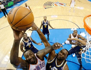 Oklahoma City Thunder beat Utah Jazz 106-94