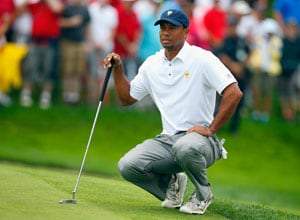 Tiger Woods leads US to Presidents Cup trophy