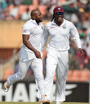 2nd Test, Day 4: West Indies on top despite Shakib's fight
