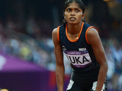 Tintu Luka Finishes Last in IAAF Continental Cup