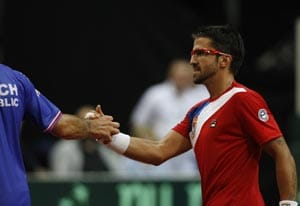 Czechs tied 1-1 with Serbia in Davis Cup