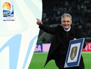 Corinthians boss Tite dedicates Club World Cup to fans
