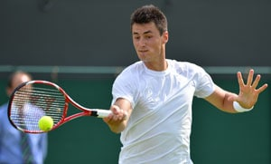 Wimbledon 2013: Bernard Tomic thanks absent father for good run in tournament