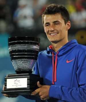Bernard Tomic wins first ATP title in Sydney