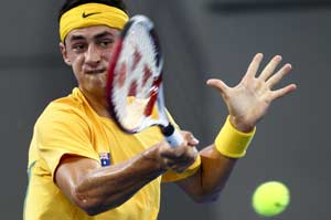 Bernard Tomic, Tommy Haas defeated in Stuttgart