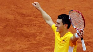 Davis Cup: Bernard Tomic's win gives Australia 1-0 lead over Germany