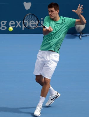 Bernard Tomic knocks out defending champion Jarkko Nieminen