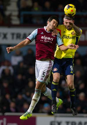 West Ham defender James Tomkins charged with assault