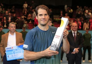 Tommy Haas beats Robin Haase in Vienna final for 15th title